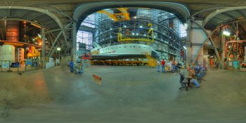Space Shuttle Atlantis (2) panorama