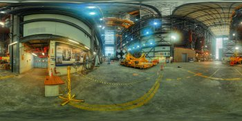 Ground Test Article 'Pathfinder' at Kennedy Space Center panorama