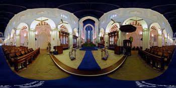 St. Andrew's Cathedral, Singapore panorama