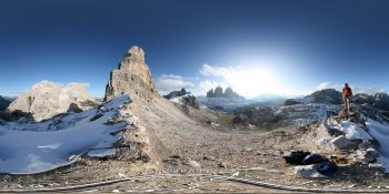 Dolomite Mountains, Italy (2) panorama