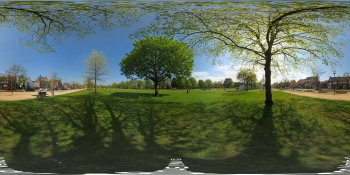 A beautiful day in Spring! panorama