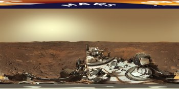 Perseverance Rover, Mars panorama
