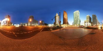 Potsdamerplatz, Berlin, Germany panorama