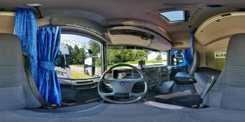Scania R500 Truck panorama