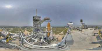 Final Space Shuttle Mission panorama