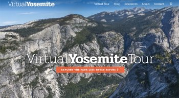 Virtual Yosemite panorama