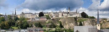 City of Luxembourg panorama