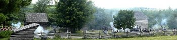 War of 1812 Reenactment panorama