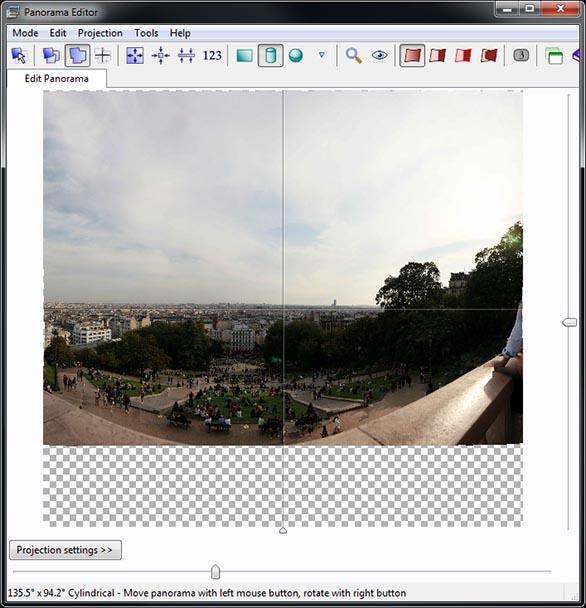 Creating gigapixel panoramas with a robotic panohead - PTGui