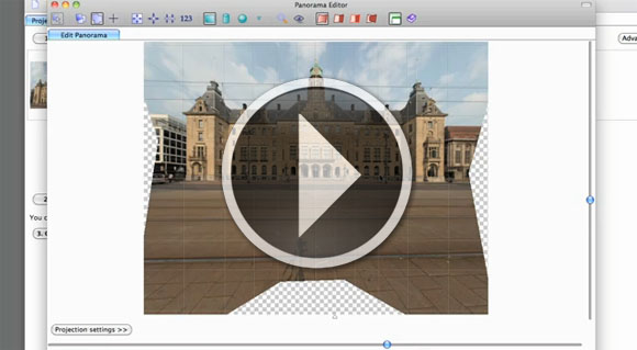 PTGui photo stitching video tutorial