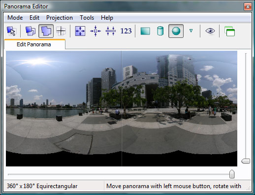 Viewpoint correction - PTGui Stitching Software
